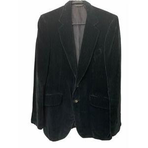 Vintage Fioravanti Black Velvet Blazer 38 R